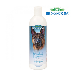 Shampoing Bio Groom Herbal Groom pour pelage chien et chat (DLUO 3 mois)