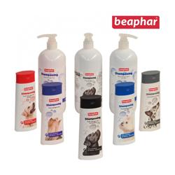 Shampoing démêlant antistatique 2 en 1 Béaphar pour chien et chat 250 ml