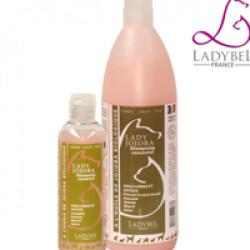 Shampoing Ladybel Jojoba fourrure précieuse pour chien et chat Lady Jojoba aux huiles végétales 200 ml