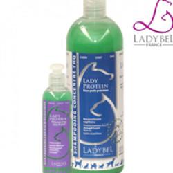 Shampooing Ladybel aux protéines pour fourrure précieuse de chien, chat et NAC Lady Proteine 200 ml