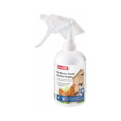 Spray stop poux rouges pour oiseaux et poules Beaphar 500 ml