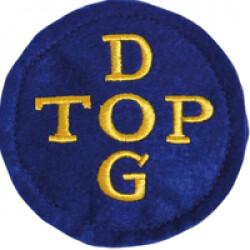Squeaker sonore de poche pour chien Top Dog diam 7.5 cm