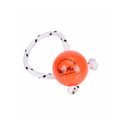 Balle (seule) Fun-ball orange fluo Ø 6,6 cm pour Top-Matic